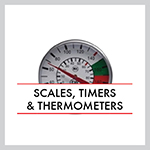 Scales, Timers, Thermometers