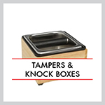 Tampers & Knock Boxes