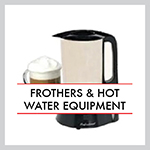 Frothers & Hot Water Equipment