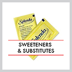 Sweeteners & Substitutes