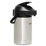 BUNN Stainless Steel Action Lever Airpot - 2.5 Liter