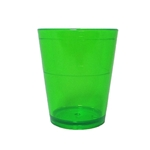 Acrylic Translucent Shot Glass - Green