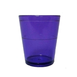 Acrylic Translucent Shot Glass - Purple