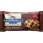 Ghirardelli 60% Dark Chips - 25 lb.