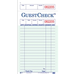 Guest Checks - One Part - Green - 50 ct.