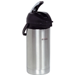 BUNN Stainless Steel Action Lever Airpot - 3.8 Liter