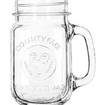 16 oz. County Fair Drinking Jar