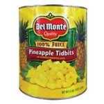 Del Monte Pineapple Tidbits